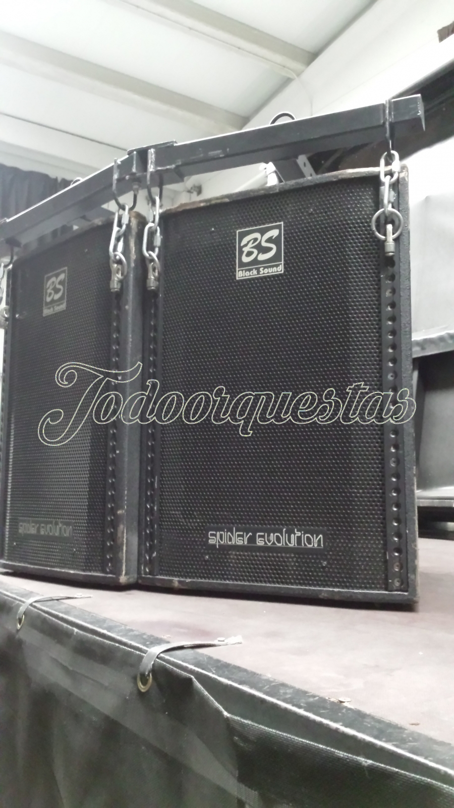 Vendo Equipo de Sonido Black Sound Spider Evoluttion