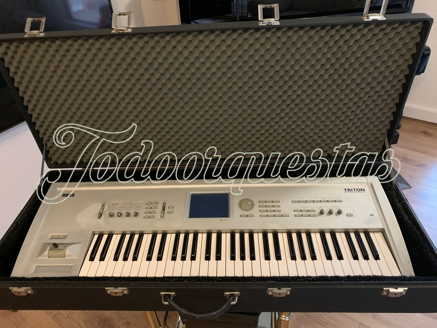 Korg triton Workstation Sampler